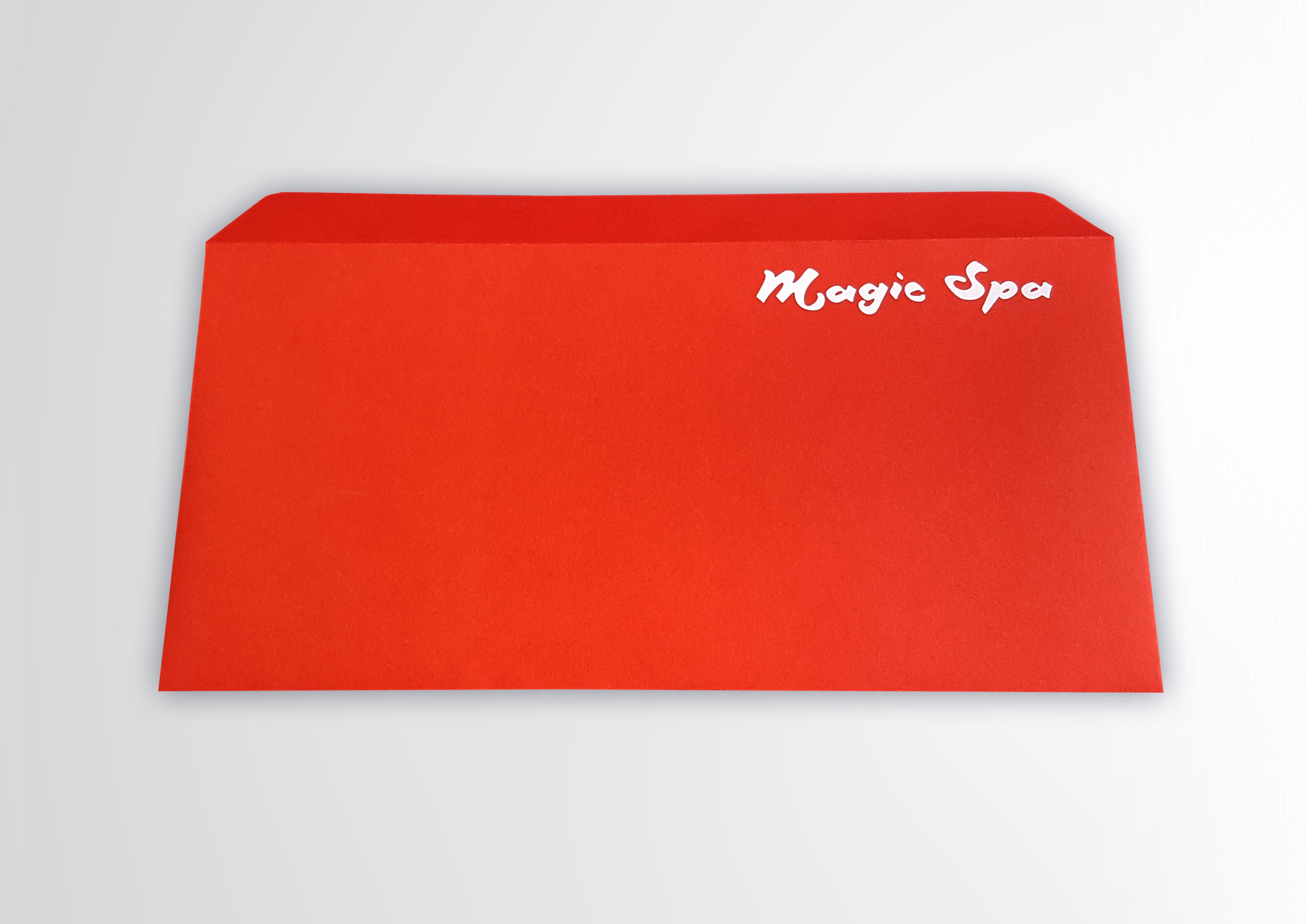 Печать фирменных конвертов с логотипом