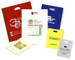 Изготровление фирменных полиэтиленовых пакетов с логотипом