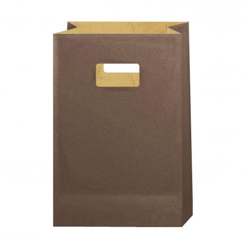 Бумажный пакет, коричневый