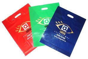 Печать фирменных полиэтиленовых пакетов с нанесением логотипа