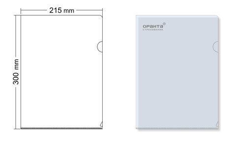 Папка-уголок для печати