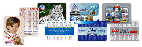 Изготовление и печать карманных календарей
