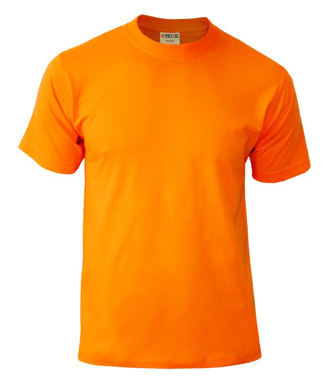 Футболка NOVIC оранжевая