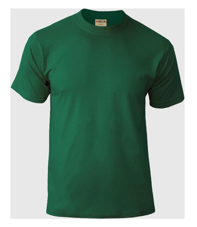 Футболка NOVIC тёмно-зелёный