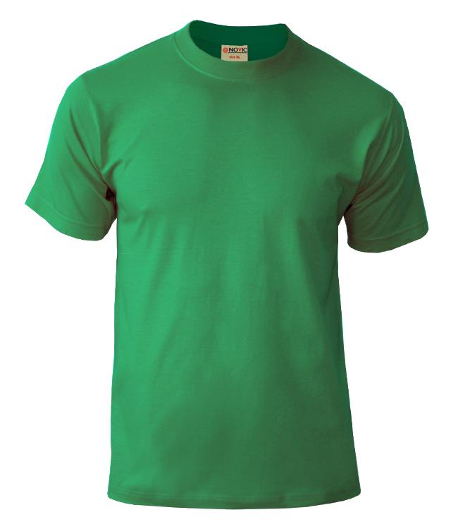 Футболка NOVIC ярко-зелёный