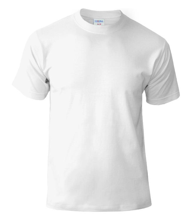 Футболка CORONA, цвет белый