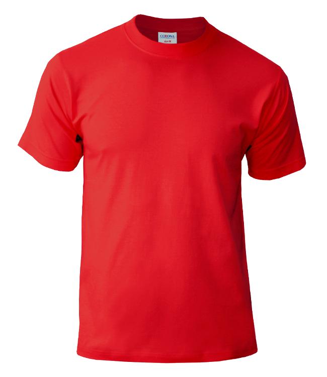 Футболка CORONA, цвет красный