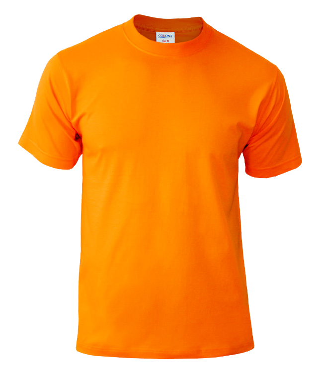 Футболка CORONA, цвет оранж