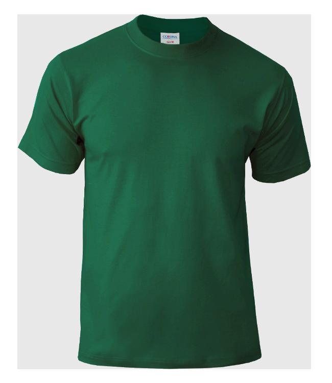 Футболка CORONA, цвет темно-зеленый