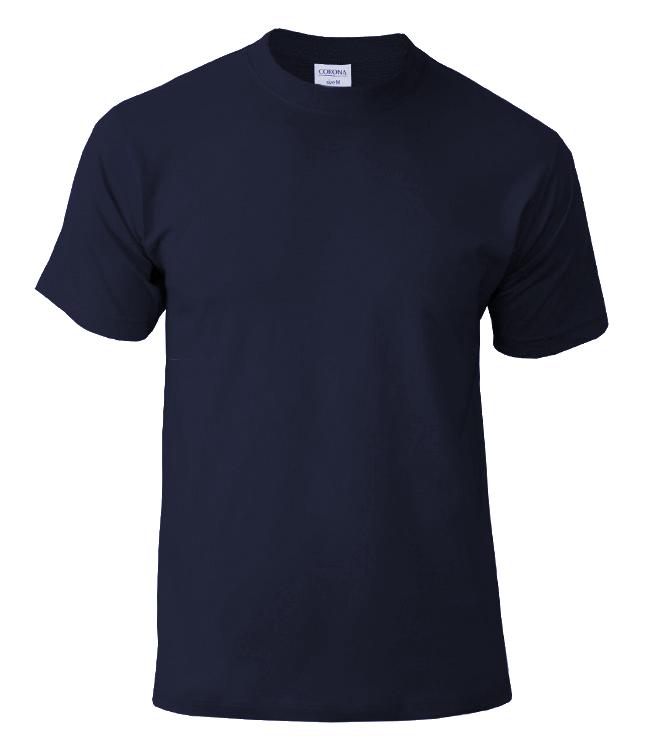Футболка CORONA, цвет темно-синий