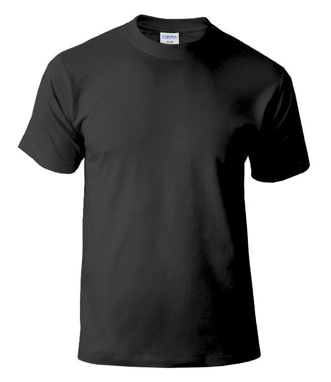 Футболка CORONA, цвет черный