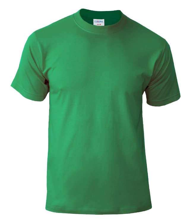 Футболка CORONA, цвет ярко зеленый