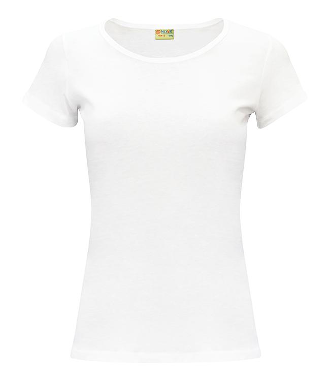 Футболка NOVIC женская, цвет белый