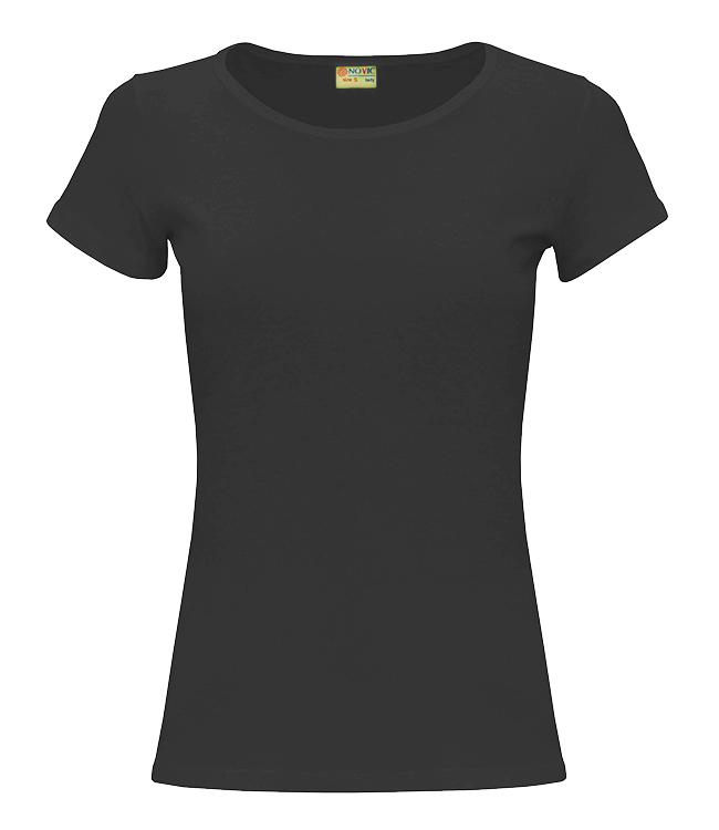 Футболка NOVIC женская, цвет черный