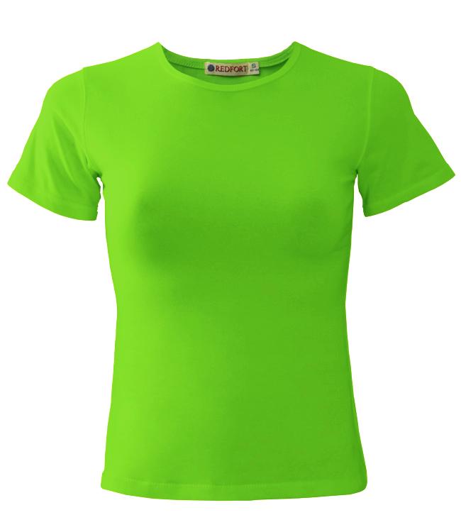 Футболка REDFORT, цвет зеленое яблоко