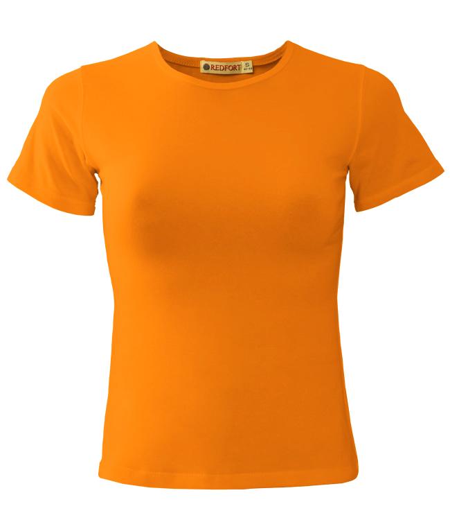 Футболка REDFORT, цвет оранжевый