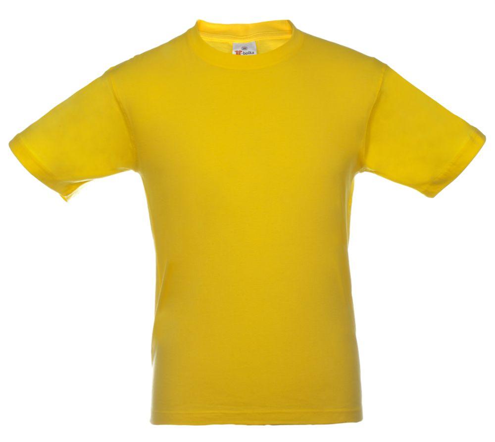 Футболка T-bolka, цвет желтый