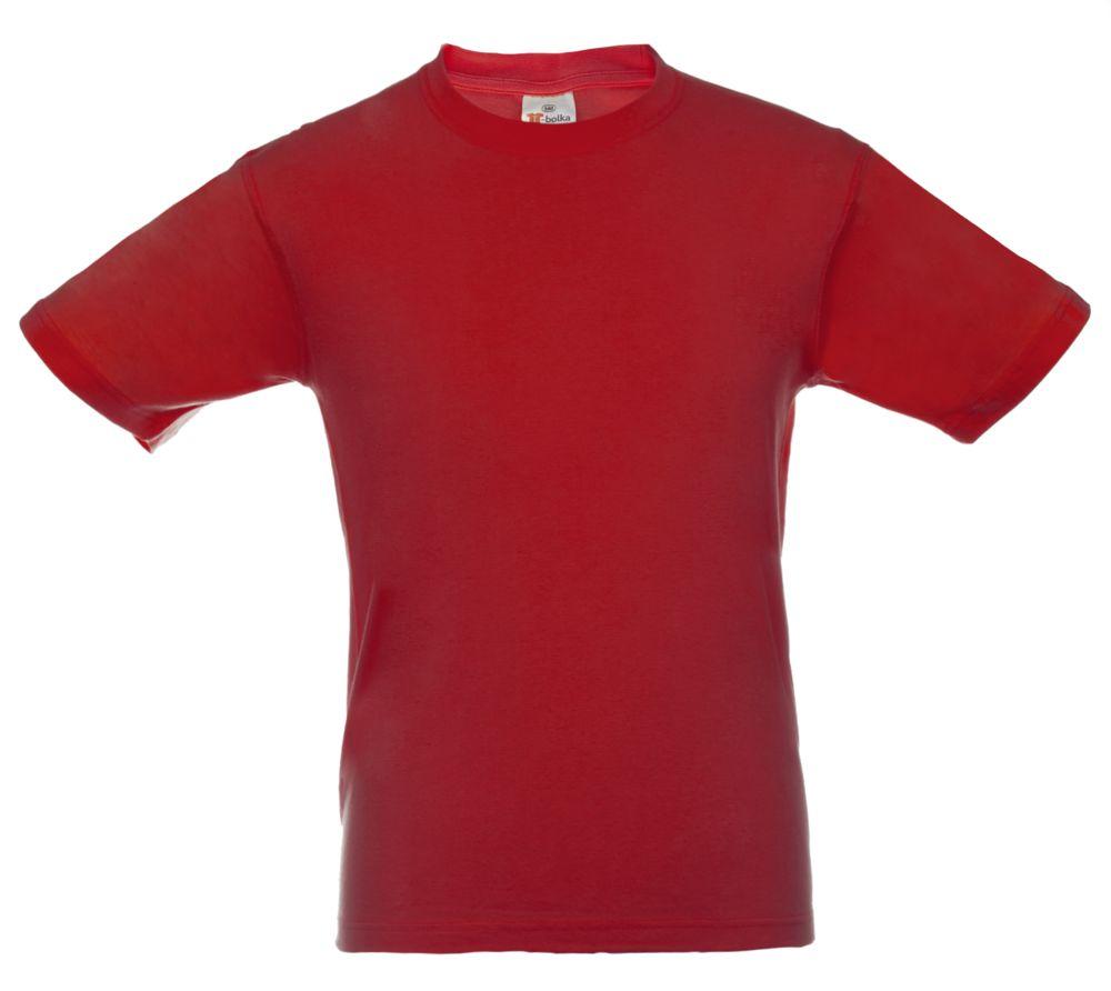 Футболка T-bolka, цвет красный