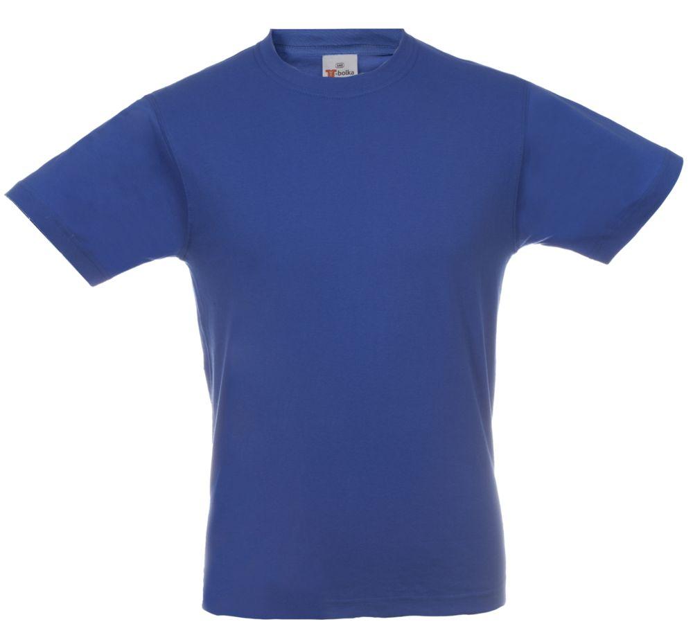 Футболка T-bolka, цвет ярко-синий