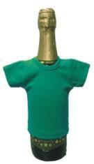 Мини-футболка на бутылку шампанского, бутылочная