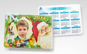 Карманный календарь с фото
