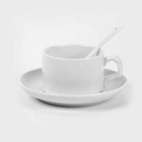 Белая кофейная чашка под печать