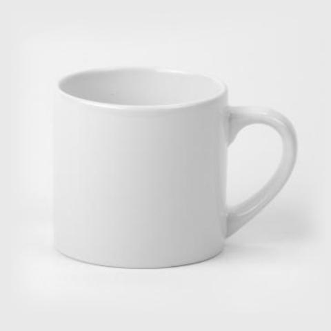 Кофейная белая кружка под печать