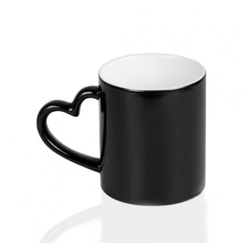 Кружка-хамелеон под печать, черная