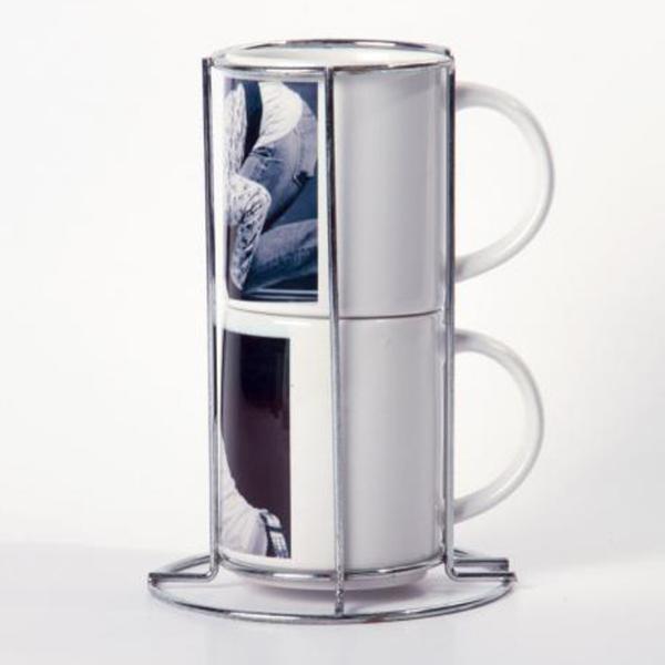 Набор кофейных кружек с печатью