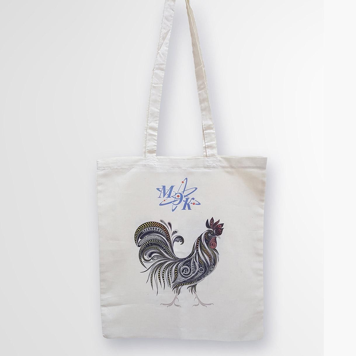 Печать изображений на хлопковых сумках