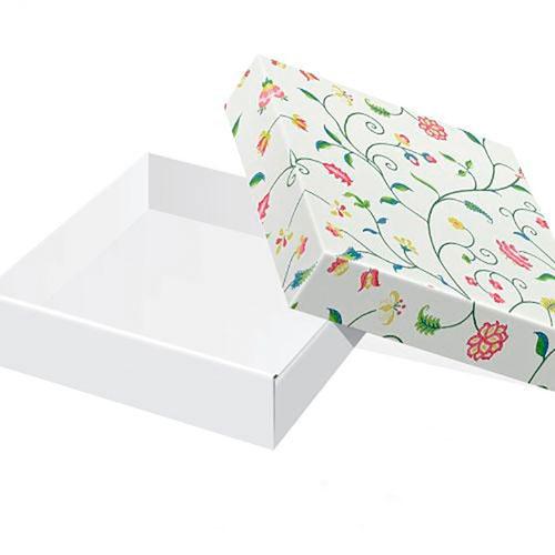 Подарочная коробка для тарелки, Луговые цветы
