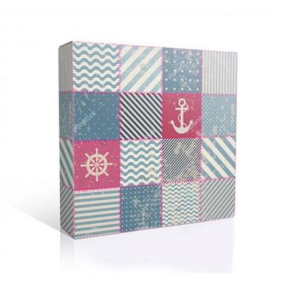 Подарочная коробка для тарелки, Морская