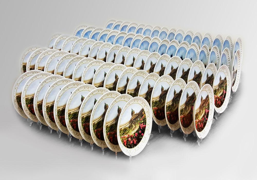 Подарочные таркелки, сувенир