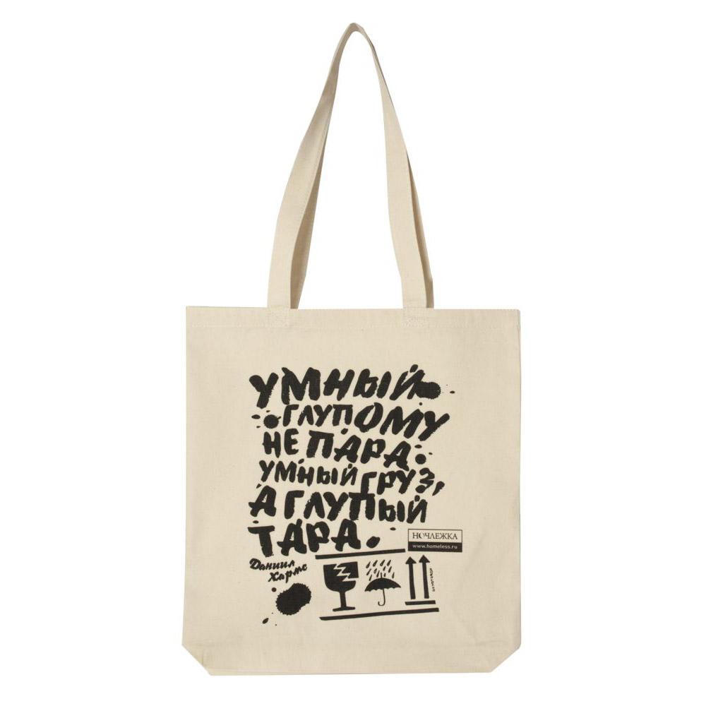 Печать надписей на сумках