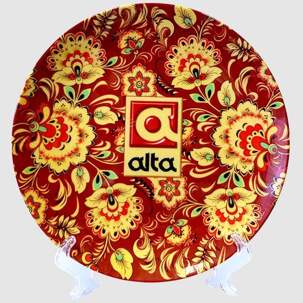 Подарочная тарелка, керамика